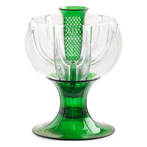 crystalline green wine aerator