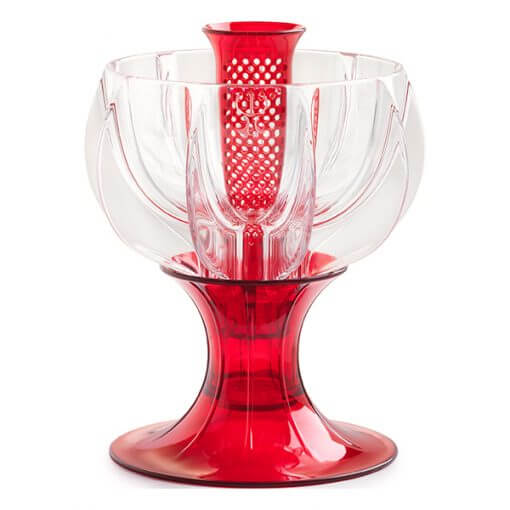 crystalline red wine aerator