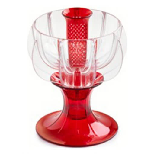crystalline red wine aerator tilted